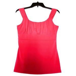 Ann Taylor Small Pink Sleeveless Blouse